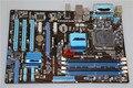 Original Desktop motherboard P5P41C LGA775 DDR2 DDR3 Gigabit Ethernet Capacitor Sólido