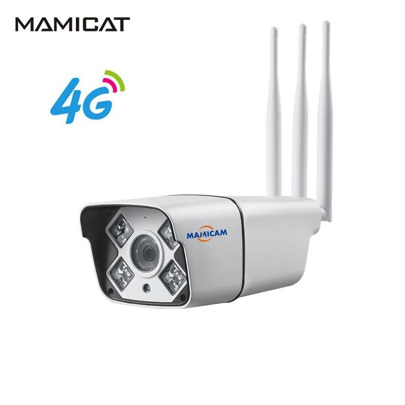 3G 4G caméra Sim carte 2MP 1080 P HD extérieur sans fil Wifi IP caméra 960 P sécurité balle étanche Surveillance CCTV caméra