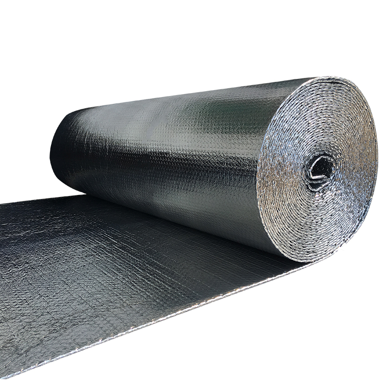 Three Layers Aluminum Foil Bubble Heat Insulation Film And Double Face Insulation Material For Roof And Sun Room, 50sqm/roll