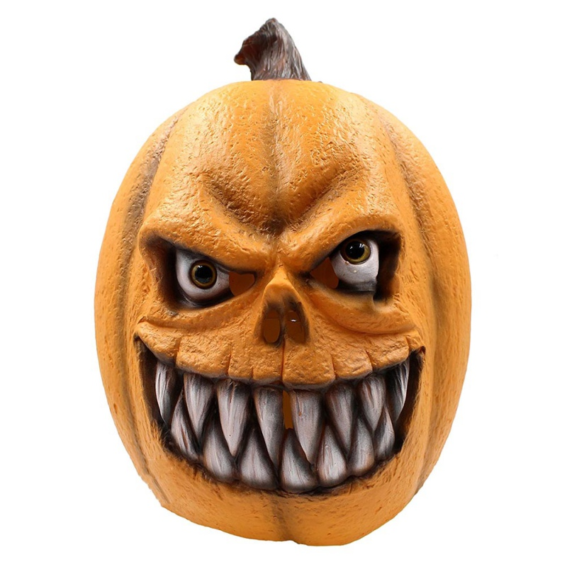 Funny Bad Boy Style Latex Mask Beathable Scary Full Face Head Mask Halloween Masquerade Mask Fancy Dress Party Costume