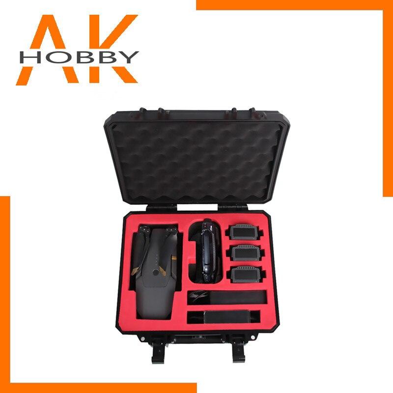Sunnylife Hardshell valise sac de rangement housse de transport pour DJI MAVIC 2/MAVIC PRO/MAVIC AIR/SPARK Drone