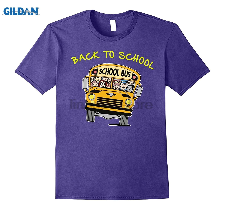 Возьмите водитель автобуса желтый обратно в школу 2017 футболка очки Для женщин футболка