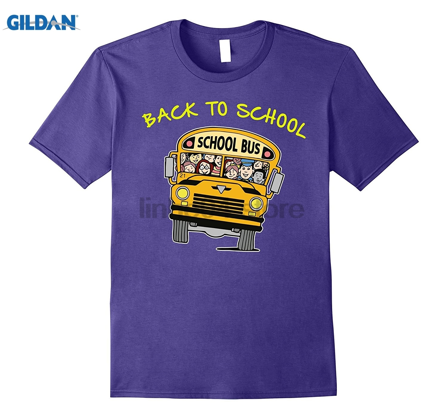 GILDAN Bus Driver Yellow Back To School 2017 T-Shirt glasses Womens T-shirt glasses Womens T-shirt glasses Womens T-shirt