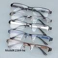 2364 Multi-Cor escolha Metade aro retângulo para unissex armações de óculos óculos de miopia óculos de prescrição de óculos