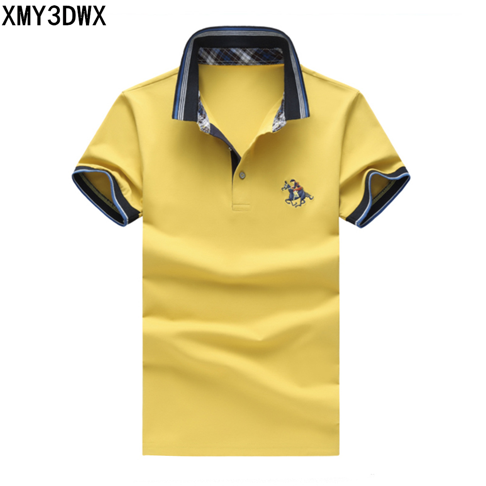 Mens Polo Shirt Brands 2018 Summer Male Short Sleeve Fashion Casual