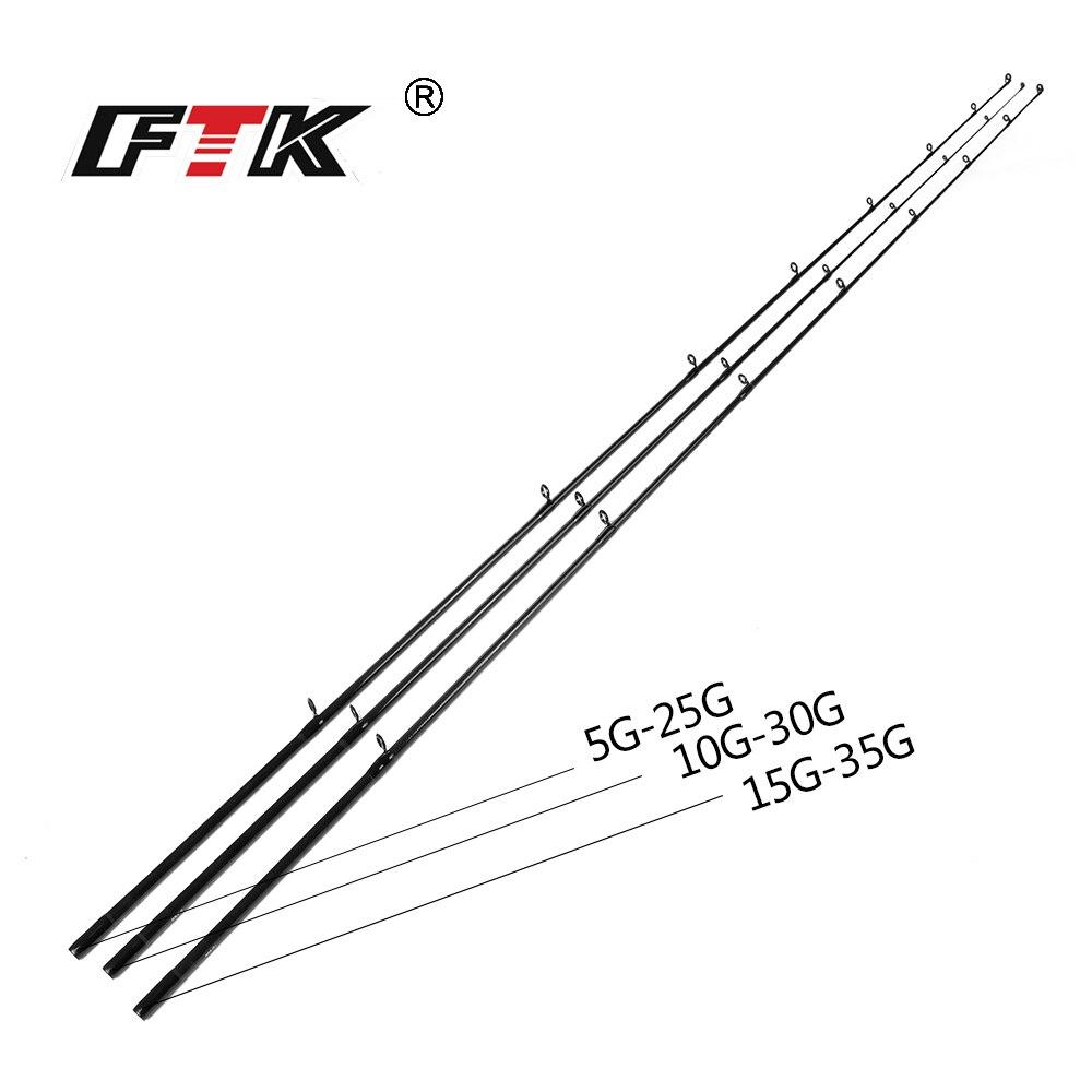 FTK 2018 new Casting Fishing Rod High Carbon 2 SEC Fishing Rod Super Hard 2.1m,2.4m,2.7m Lure Fishing Rod