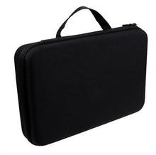 1pc Black GoPro Case Collection Box Shockproof Travel Protective EVA Storage Camera Bag For GoPro HD Video Hero 4 3+ 3 2 1
