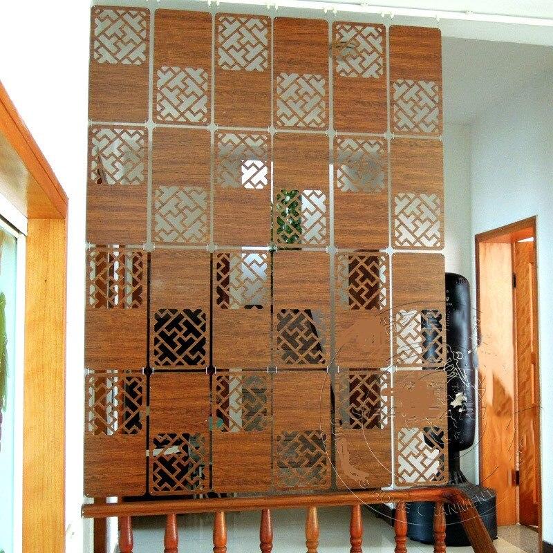 Buy wooden screens cut off home - Separador de ambientes ...