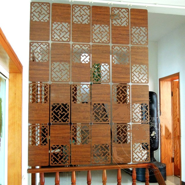 wooden screens cut off home decorations wooden dividers for rooms biombo separador de ambientes partition shield - Separadores De Ambientes