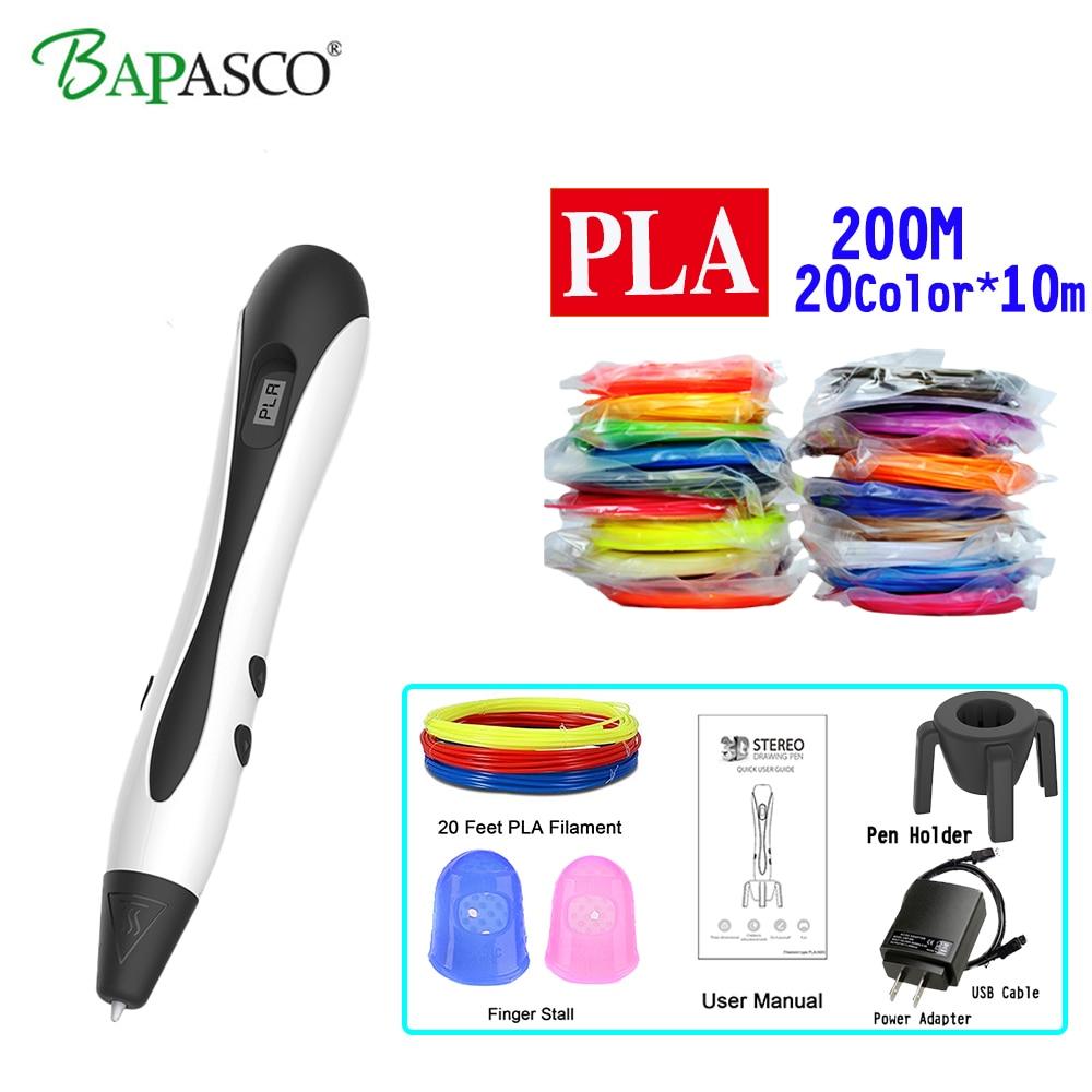 New BAPASCO 3D Printing Pen BP 07 Kids' Best Education Tools