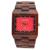 Bewell relojes de madera los hombres maple sándalo reloj rectángulo dial analógico display reloj de los hombres reloj de cuarzo relogio masculino 016a