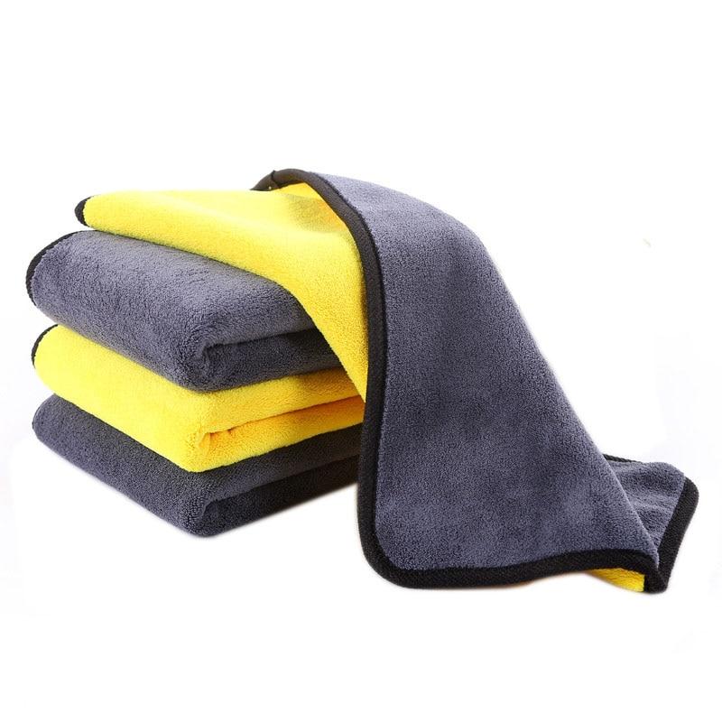Car Wash Accessories Car Wash & Maintenance 30*30cm Super Absorbent Car Wash Cloth Microfiber Towel Cleaning Drying Cloths Rag Detailing Car Towel Car Care Polishing