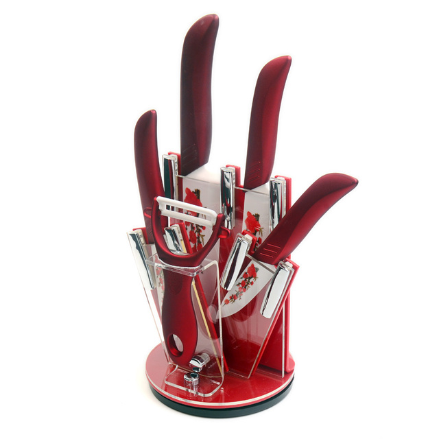 Red Knife Block Ler Xyj Brand 3 Inch 4 5 6