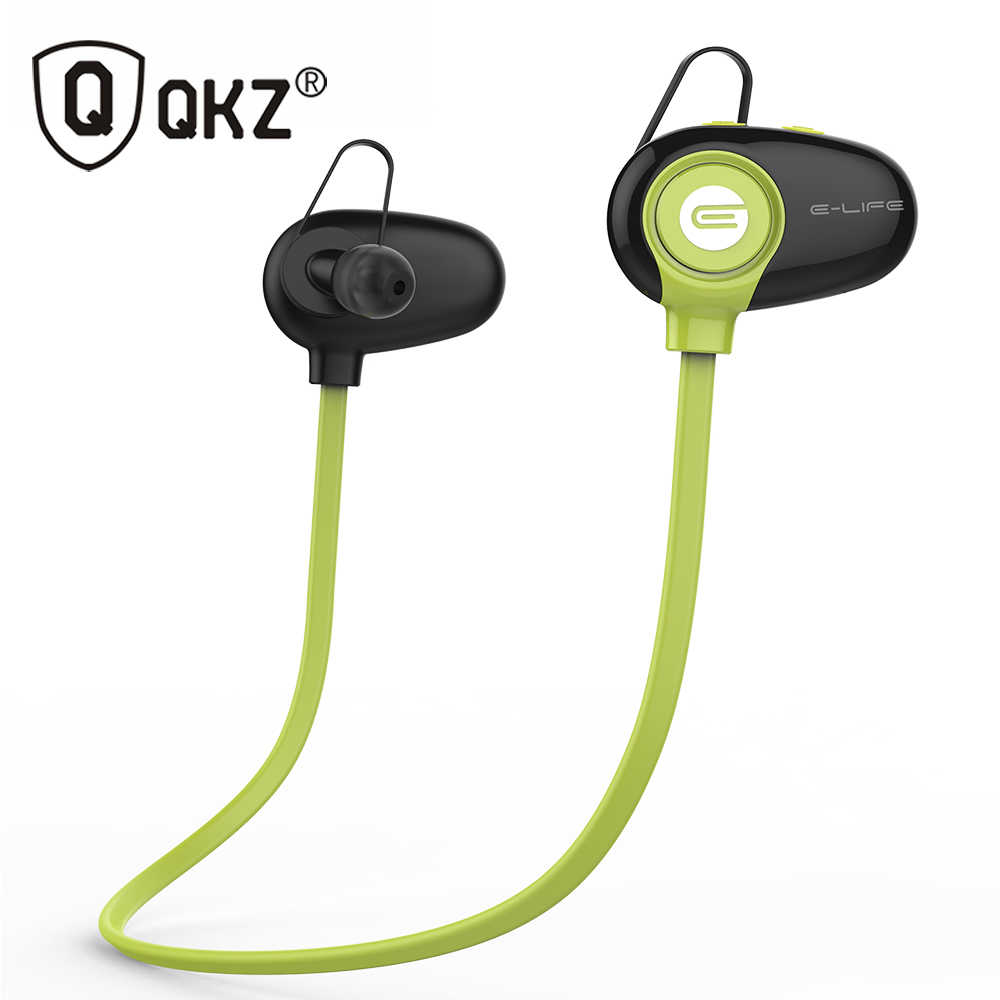 Original QKZ QG9 Bluetooth Headset Wireless Sport Bluetooth Earphone with Mic Noise Cancelling Headset HIFI Sweatproof Earbuds huast v4 1 sport bluetooth earphone with mic wireless headphones bluetooth headset magnet earbuds for phone noise cancelling