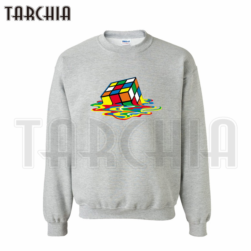 TARCHIA  European style Free Shipping fashion casual men sweatshirt Rubik's Cube The Big Bang Theory personalized man coat