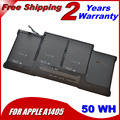 """JIGU 50wh  For Apple Macbook Air 13"""" A1369 2011 A1405 laptop battery free shipping"""