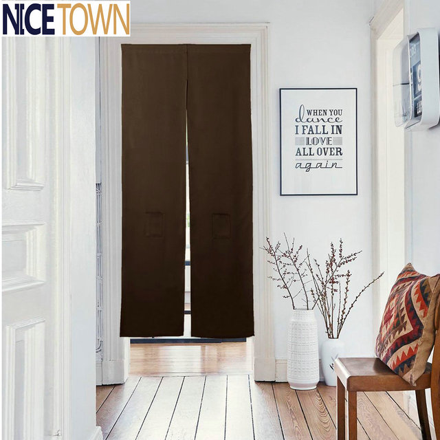 NICETOWN Japanese Noren Doorway Curtain Doorway Divider
