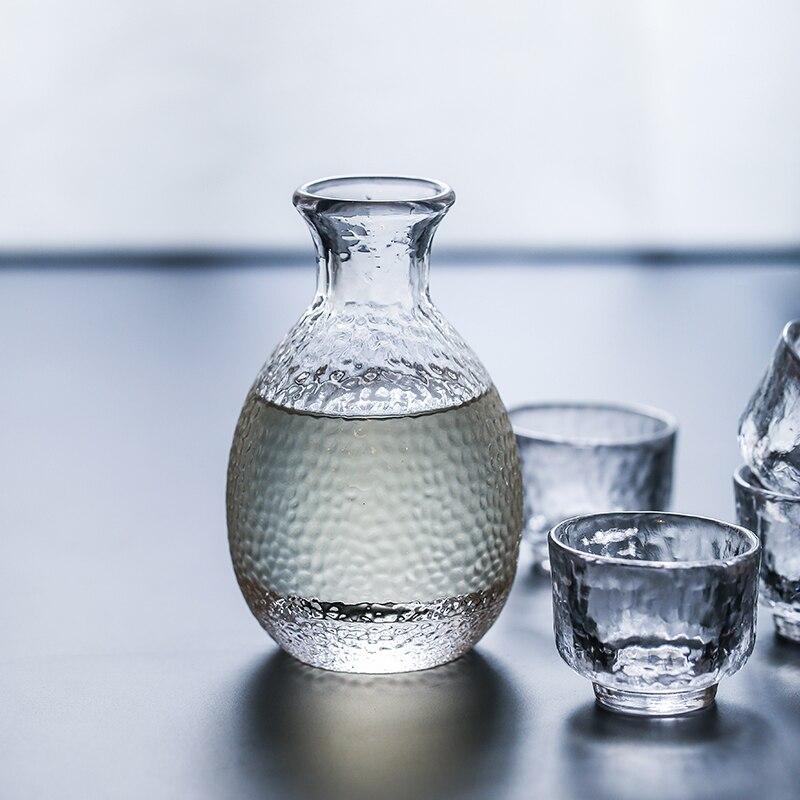 Bleu Couleur Frais bouilloire de style Japonais verre de vin ensemble cruches petit verre cruche 1 pot 4 tasses