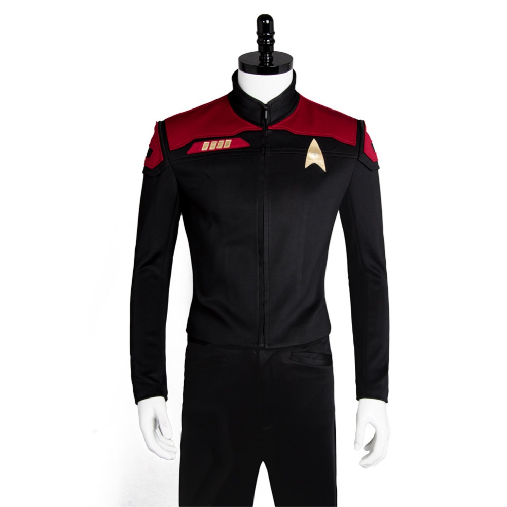 Star Trek Online uniform Coat tops Cosplay Costume custom