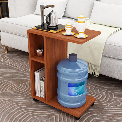 Modern Living Room Sofa Corner Coffee Table Imitation Wood Side Cabinets Bedside Coffee Table Side Table  Mesa De Centro Dotomy