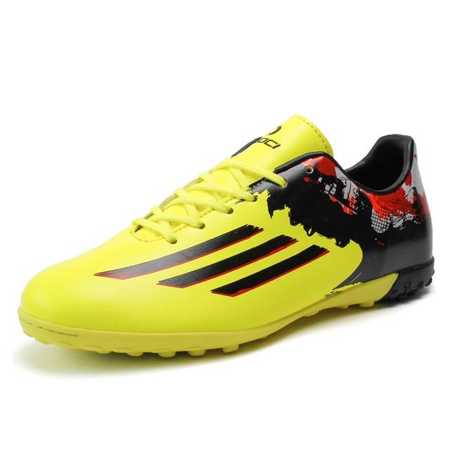 Leoci adultos boy kids duro recuento tf hombres zapatos de fútbol botas de  fútbol entrenadores deportivos b2b013052d4a0