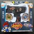 1 unids caja set venta venta Lanzador Metal Fusion 4d Beyblade gyro Juguetes Juego Niños beyblade conjunto de juguete Para Niños de Navidad regalo