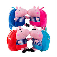 2018 new pig plush toy backpack creative birthday gift for children