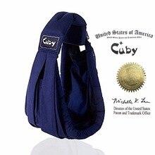 Cuby Easy Carrying Ergonomisk Baby Sling Nyfødt til 2 År Baby Wrap Fashion Baby Kangaroo Quick Dry Design Materail Carrier