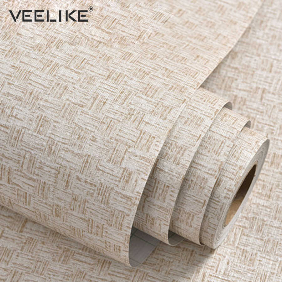 Vinyl Pvc Self Adhesive Wallpaper Roll For Bedroom Living Room Wall Paper Stickers Dining Room Hotel Decor Striped Wallpapers