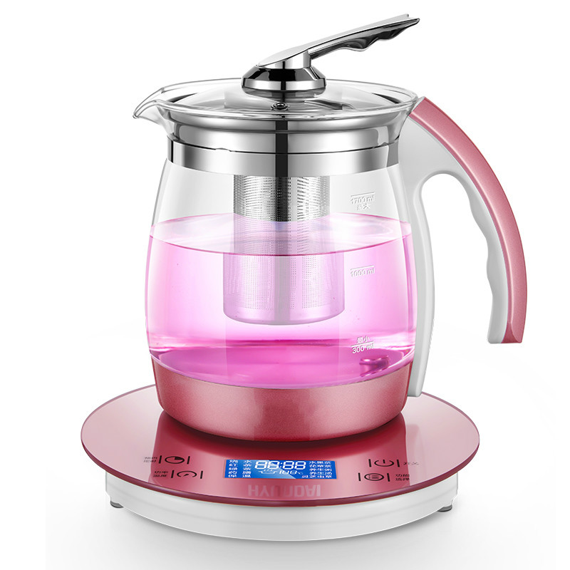 Electric kettle Extra thick glass raised pot automatic multi-purpose Fried Chinese medicine electric health health raising pot and thick glass health medicine