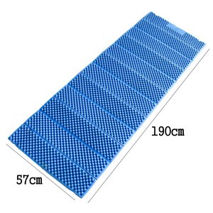 Image 2 - VILEAD 190*57 cm קמפינג מחצלת XPE Ultralight קצף מתקפל עמיד למים מזרן לקמפינג טיולים פיקניק חוף שינה מושב כרית