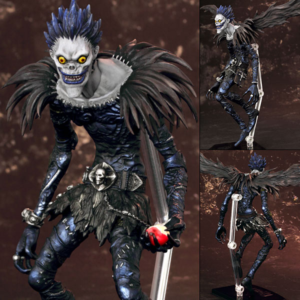 Us 15 99 Figutto Figma Anime Death Note Character Ryuk Yagami Light Bjd Pvc Action Figures Toys In Action Toy Figures From Toys Hobbies On