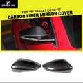 1 пара зеркальные крышки заднего вида из углеродного волокна для Volkswagen VW PASSAT CC 2008-2012