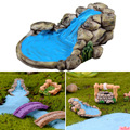 SOLEDI статуэтки для бонсай садовая статуэтка смолы ретро мини Ремесла Сад Микро-пейзаж DIY газон Ландшафтный для внутреннего двора декор из игрушек - фото