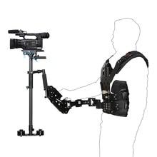 5 8kg Pro Carbon Fiber Steadicam Set Camera Stabilizer Vest double Arm Video Camera DSLR