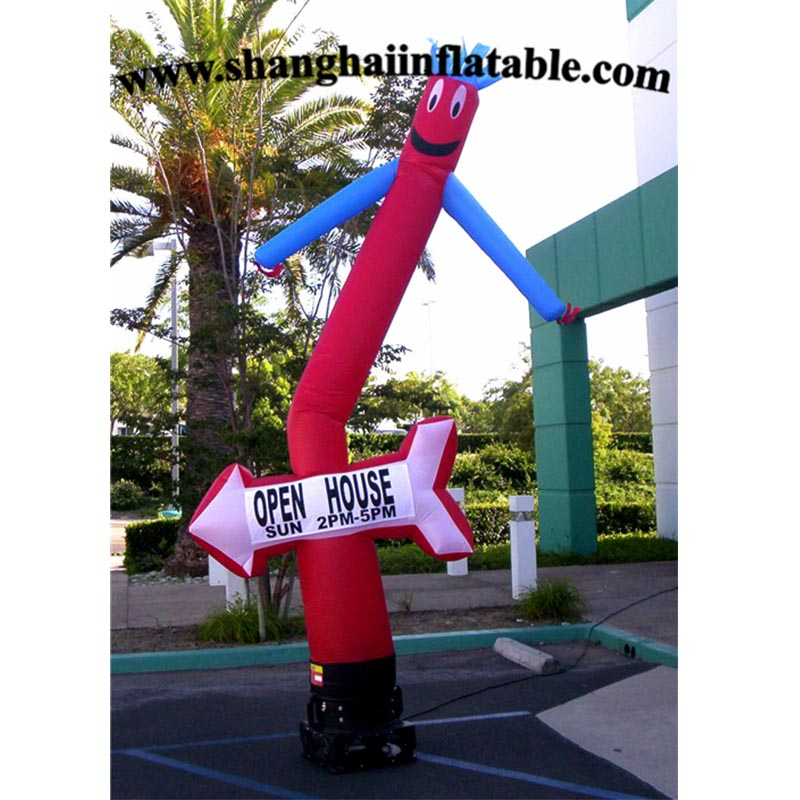 inflatable dancing wind dancer tube man cartoon  air puppet outdoor air sky dancing man for advertising free shipping