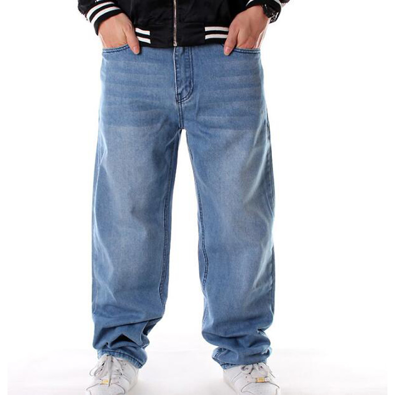 NUWFOR Mens Fashion New Personality Hollow Jeans Making Old Holes and Trousers Pant Blue,US:40//AS:XXXXXL Waist?41.7
