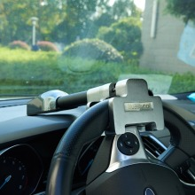 Автомобильный Замок на рулевое колесо, защита от кражи, безопасность, сигнализация, замок, выдвижная защита от кражи, Т-образный замок