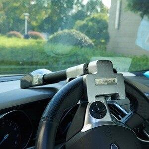 Image 5 - Mikro titreşim kontrol Buzzer Alarm sesi araba Van direksiyon kilidi güvenlik kelepçesi Anti hırsızlık güvenlik ağır hizmet tipi