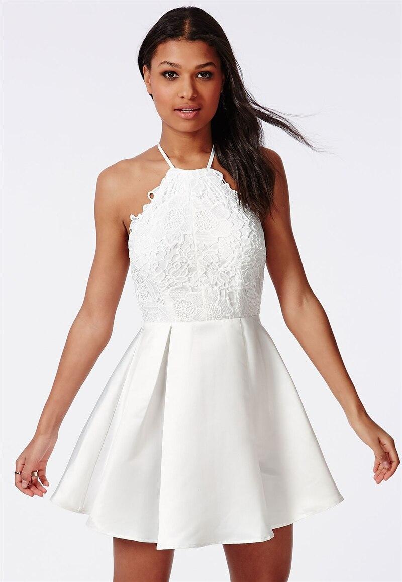 Cross Back Short Prom Dresses