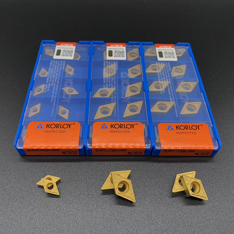 Blade Original DCMT070204 DCMT11T304 DCMT11T308 HMP NC3020 High Quality Internal Turning Tool Carbide Insert For Steel