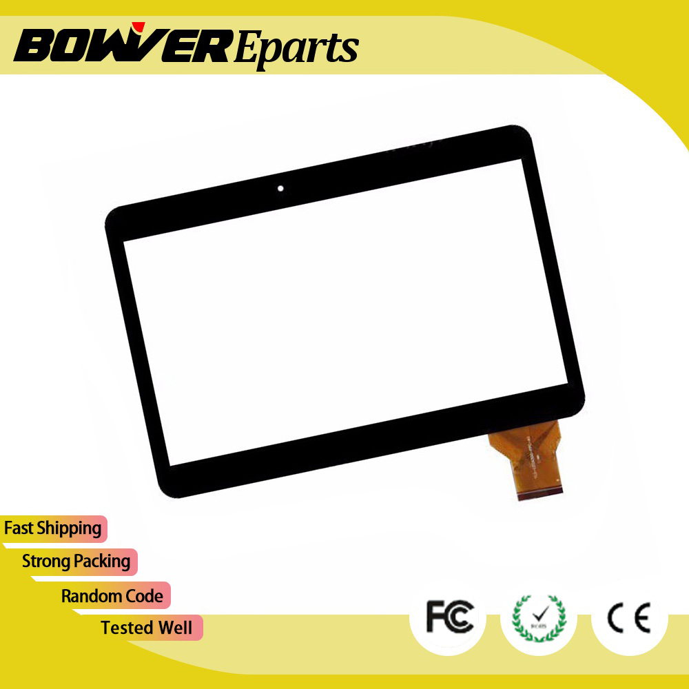 A+  For  RoverPad Tesla 10.1 3G Tablet Capacitive touch screen panel Digitizer Glass Sensor LCD screen display replacement replacement lcd digitizer capacitive touch screen for lg d800 d 801 d803 f320 white