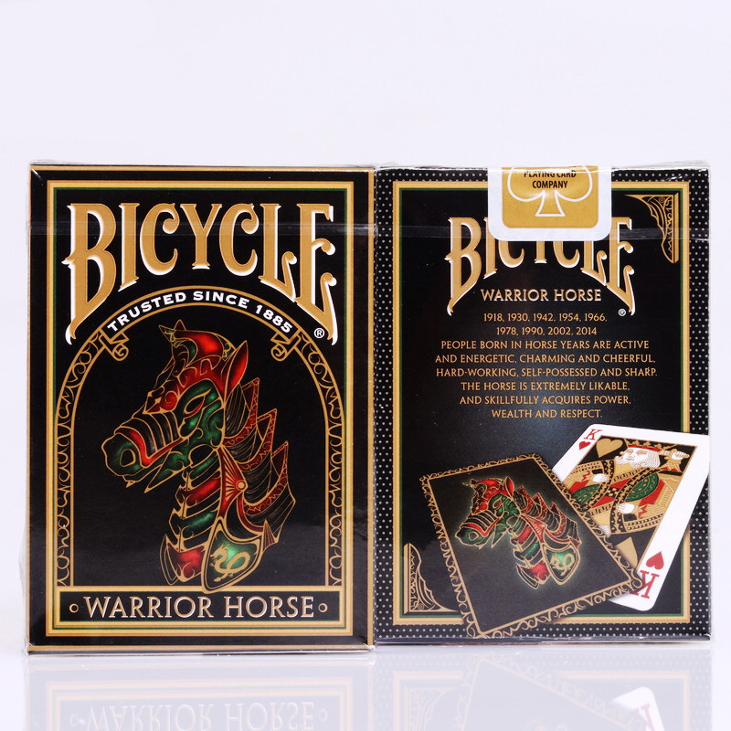 Bicycle Warrior Horse Playing Cards 88*63mm Magic Category Poker Cards for Professional Magician