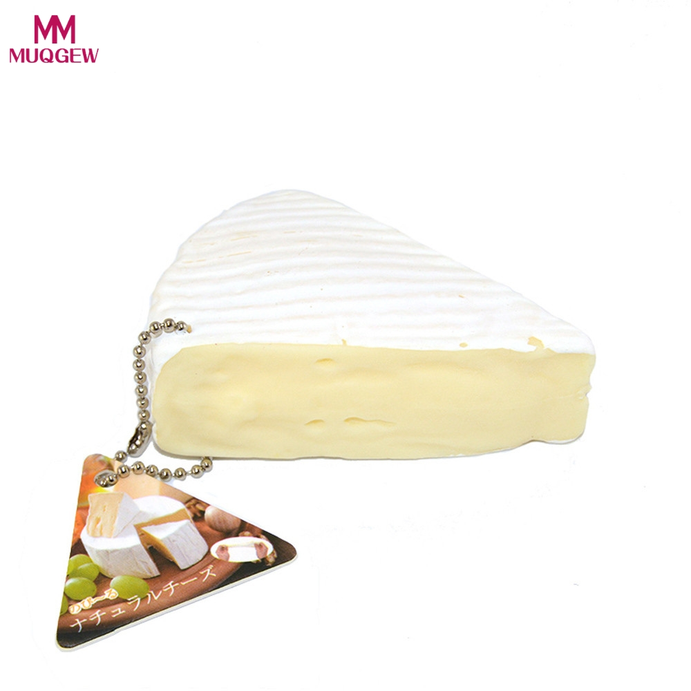 7cm New Jumbo Squishy White cheese Bread Scented Cake Kid Toy Gif Cream Elastic PU Stress Relief AntiStress Squishy Squeeze Toys