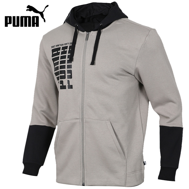 Original New Arrival 2018 PUMA Rebel Up FZ Hoody FL Mens jacket Hooded SportswearOriginal New Arrival 2018 PUMA Rebel Up FZ Hoody FL Mens jacket Hooded Sportswear