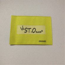 Customized Woven Label for garments High Density