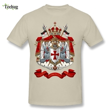 Quality Man Knights Templar T-Shirt Custom Cotton Hot Sale Tee Shirts
