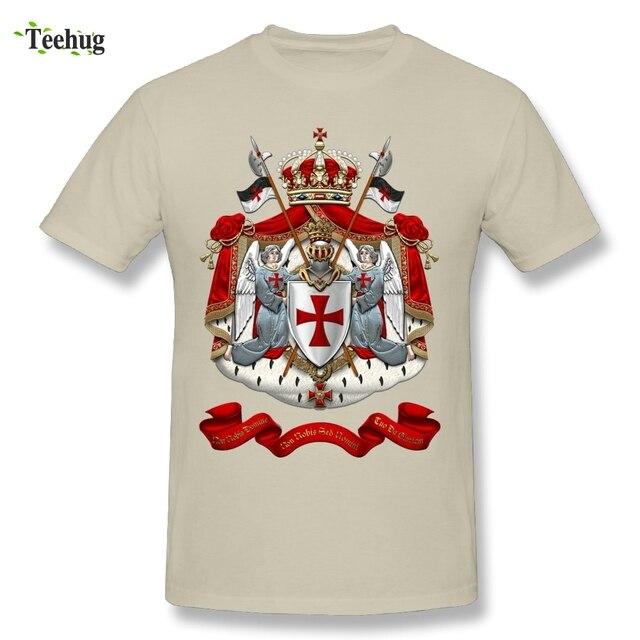 a5caaa67e Quality Man Knights Templar T-Shirt Custom Cotton Hot Sale Tee Shirts