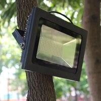 AC180 240V Ultrathin Floodlight Waterproof Lighting Spotlight for Garden Landscape Parking Lot Mall Building Billboard