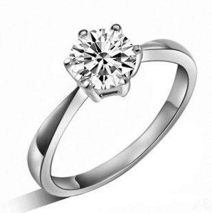 - vybouchne to klasický design 925 šterlinků stříbro lesklé CZ zirkony dámské snubní prsteny šperky dárek pokles lodní doprava